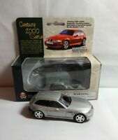 FUNTASTIC CENTURY 2000 SERIES 1:43 SCALE DIECAST BMW COUPE - SILVER - HP9712W