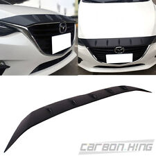 ITEM IN USA Embossed Surface Mazda 3 3rd 4D 5D Front Hood Bonnet Fin Cover 14-17