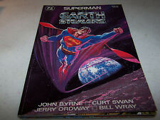 SIGNED CURT SWAN SUPERMAN THE EARTH STEALERS PRESDTIGE FORMAT DC COMIC CLASSIC