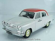 GAZ 21T BONRA TAXI MODEL CAR 1/43RD SCALE RUSSIAN LEGENDS PACKED ISSUE K8967Q~#~