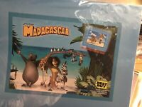 Dreamworks Madagascar Collectible Lithograph, Best Buy Exclusive 2005 Sealed 625