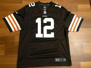 Cleveland Browns NFL Players Colt McCoy #12 Nike On Field Jersey Size Men's L