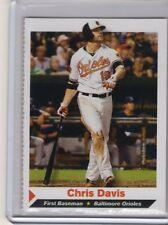2013 Sports Illustrated Kids Si Sifk CHRIS DAVIS Baltimore Orioles baseball