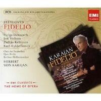 DERNESCH/VICKERS/KARAJAN - FIDELIO (GA) 3 CD OPER KLASSIK NEU BEETHOVEN
