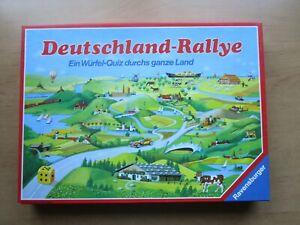 Deutschland-Rallye von Ravensburger, komplett! 1988 Brettspiel