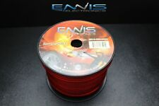 8 GAUGE WIRE 250 FT RED AWG CABLE ENNIS ELECTRONICS POWER STRANDED SUPERFLEXIBLE