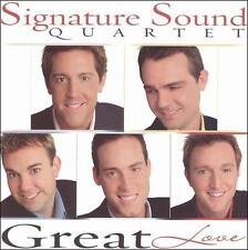 Signature Sound Quartet : Great Love CD