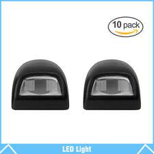 10Pcs Rear License Plate Light Lens For Chevy Silverado Sierra Pickup Escalade