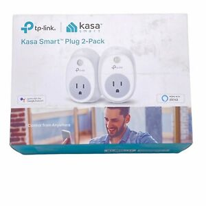 TP-Link HS100 Smart Plug (2-Pack), Wi-Fi, Works with Alexa, Control Your Devices