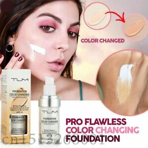 30ml TLM Color Changing Liquid Foundation Makeup Change To Your Skin Tone By Ju