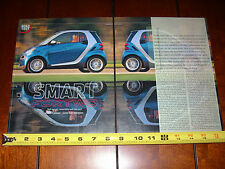2008 SMART CAR FORTWO PASSION COUPE - ORIGINAL ARTICLE MINI MICRO CAR