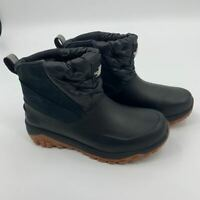 New The North Face womens primaloft boots Sz 7 waterproof black Ankle snow N73
