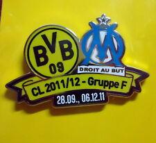 BVB 09 Championsleague 2011/12 Pin - Borussia Dortmund - Olympique Marseille