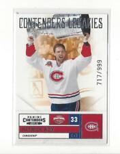 2011-12 Panini Contenders #153 Patrick Roy CC Canadiens /999