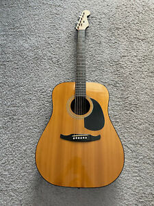 Fender Concord California Series 1987-1992 MIK Natural Vintage Acoustic Guitar