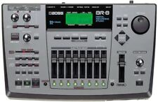 BOSS BR-8 MULTI TRACK DIGITAL RECORDING STUDIO 500MB ZIP DISKS & POWER SUPPLY