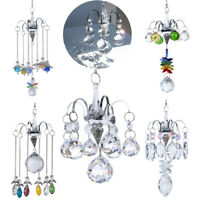 Crystal Rainbow Suncatcher Glass Ball Prism Hanging Pendant Window Home Decor
