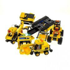1 x Lego System Teile Set Construction 7630 Front-End Loader 7936 Level Crossing