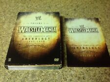 WWE - Wrestlemania Anthology: Vol. 1 (DVD, 2005, 5-Disc Set)Authentic US RELEASE