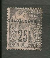 "FRANCE GUADELOUPE YV. 21 ERROR ""GUADALOUPP"" USED"