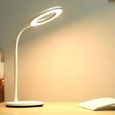 Desk Lamp 1200 mAh Battery Ring White Warm Nature Light Led Table Lamp USB