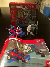 Lego Juniors 10665 Spider Man Spider Car Pursuit Venom USED Complete with Box