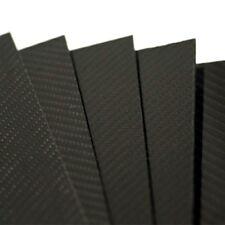 PLANCHA DE FIBRA DE CARBONO 2mm TWILL Gloss 2/2 500x400mm