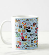 Harry Potter Doodle Hot Coffee Tea Cup Funny Mug Unique Design  Birthday gift