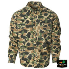 NEW AVERY OUTDOORS HERITAGE COLLECTION CHAMOIS SHIRT - OLD SCHOOL CAMO