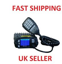 CRT 279 UV UHF VHF de Doble banda de radio móvil 2M 70CM KT-8900D + Cable & Softwar qyt