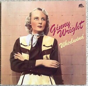 GINNY WRIGHT : WHIRLWIND  LP