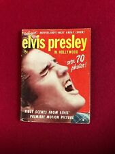 "1956, Elvis Presley, ""Elvis Presley In Hollywood"" Magazine (No Label) Scarce"