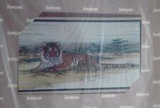 Cross Stitch Kit Tiger  in the Wild Janlynn New