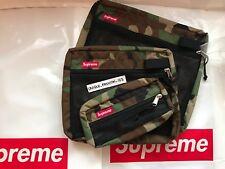 SUPREME MESH ORGANISER BAGS SET OF 3 WOODLAND CAMO FW16 POUCH ORGANIZER BOX LOGO