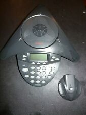 Avaya Soundstation 1692 IP Conference Station 2201-15680-001 & Mic