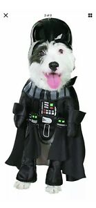 Darth Vader Star Wars Dog Costume!! Size Large. Hat included.