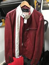 GAP PRODUCT (RED) LEATHER red with white stripes