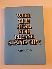 Will the Real You Please Stand Up! by John A. Lynn (1980, Paperback) 1982 USED