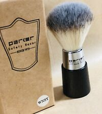Parker Safety Razor WNSY Shaving Brush, Vegan Friendly Synthetic Bristles