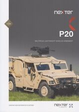 NEXTER P20 2019 MULTIROLE VEHICLES ARMAMENT FRENCH MILITARY BROCHURE PROSPEKT