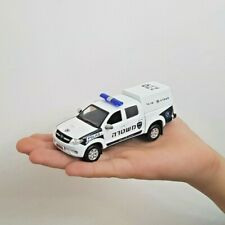 ISRAEL POLICE CAR TOYOTA HILUX OLD VERSION SCALE 1:43 MODEL TOY BEST GIFT