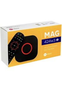 MAG Box MAG 424w3 Built in wifi Limited Edition Extra 2 Gb Ram 8 Gp Flash Micro