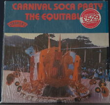 CARNIVAL SOCA PARTY - THE EQUITABLES 1980 STARKER RECORDS GS 2226 VINYL US PRESS