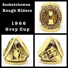 Saskatchewan Roughriders 1966 Grey Cup Champions Rings Size 11