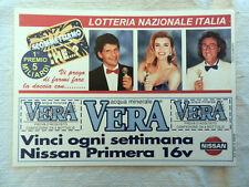 Cartolina LOTTERIA NAZIONALE ITALIA Scommettiamo Che? 1° Premio 5 Miliardi