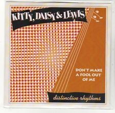 (DK820) Kitty, Daisy & Lewis, Don't Make A Fool Out Of Me - DJ CD