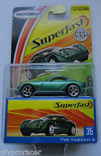 MATCHBOX SUPERFAST 1/15500 #35 TVR TUSCAN S