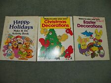 3 BOOK SET: CHRISTMAS DECORATIONS, EASTER DECORATIONS & HAPPY HOLIDAYS