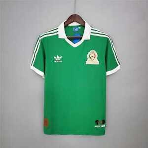 MEXICO 1986 Vintage Retro Soccer Jersey