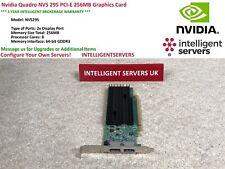 Nvidia Quadro NVS 295 PCI-E 256MB Graphics Card  -  High Profile